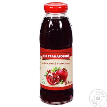 Restored Pomegranate Juice 0.3l