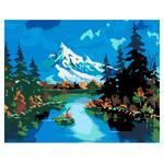 Rosa Start Mountain landscapes Set for Creativity N00013332
