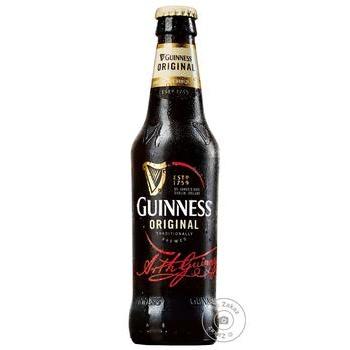 Пиво Guinness Original темное 5% 0.33л - купить, цены на Novus - фото 1