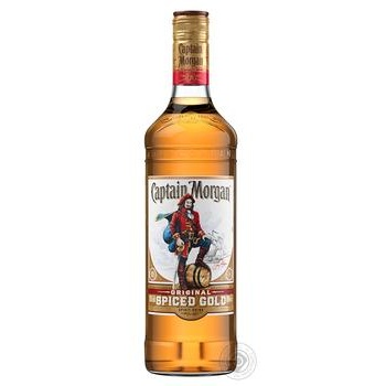 Ром Captain Morgan Spiced Gold 35% 1л