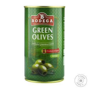 Bodega Pitted Green Olives 350g - buy, prices for Novus - image 1