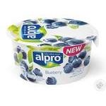 Йогурт соевый Alpro Черника 150г
