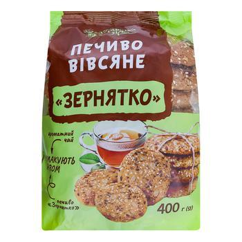 Печенье овсяное Українська Зірка Зернышко 400г