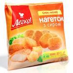 Нагетсы Легко! с сыром замороженные 1кг Украина