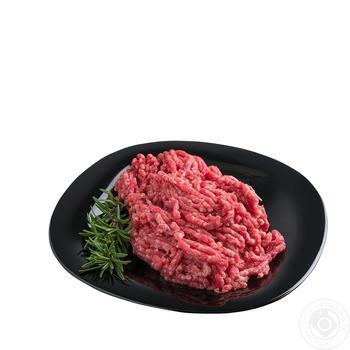 Фарш говяжий - купить, цены на Ашан - фото 1