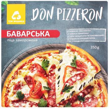 Пицца Три Медведя Don Pizzeron Баварская 350г