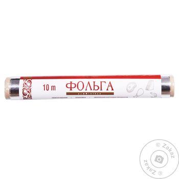 Фольга алюминиевая Українська Зірка 10м - купить, цены на Таврия В - фото 1