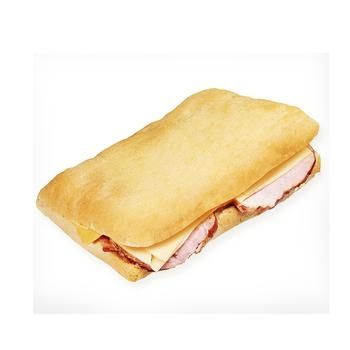 Сендвич Чиабата с бужениной и сыром 210г