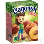 Сок Садочок персиковый 0,2л