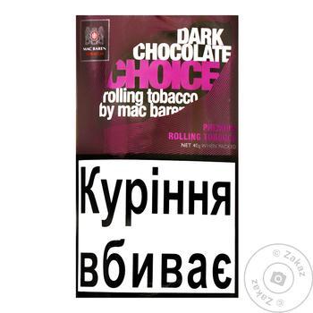 Тютюн Mc.Baren Choco Choice 40г - купити, ціни на CітіМаркет - фото 1