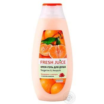 Крем-гель для душа Fresh Juice Tangerine & Awapuhi 400мл - купить, цены на СитиМаркет - фото 1