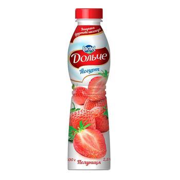 Йогурт Дольче полуниця 2,5% 500г