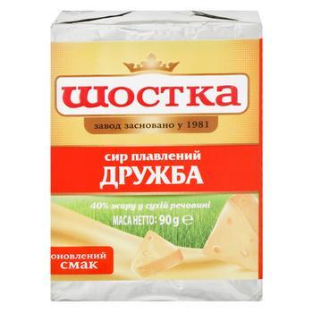 Сыр Шостка Дружба плавленый 50% 90г - купить, цены на Ашан - фото 5