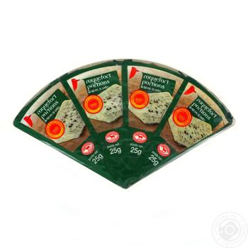 Auchan Roquefort Cheese 55% - buy, prices for Auchan - photo 1