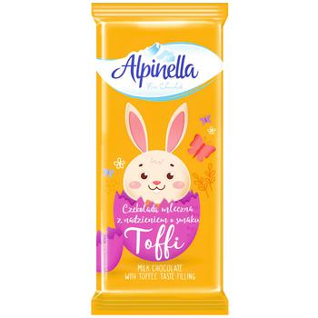 Шоколад Alpinella Easter Тоффи 100г