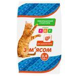 Корм Чиста ВигоДА! сухий для дорослих котів з м'ясом 400г