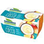 Йогурт Granarolo рослинний кокосовий зі шматочками манго 2x125г