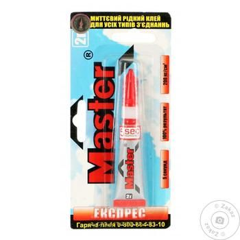 Master Express Super Glue 2g - buy, prices for Tavria V - image 1