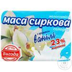 Масса творожная Выгода молокосодержащая сладкая с ароматом ванили 23% 200г