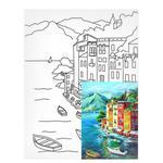 Холст на картоне Rosa Start Морские пейзажи №1 с контуром 30х40см