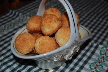 Кокосовое печенье с черносливом