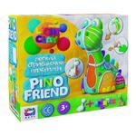 Pino Friends Moon Light Clay Dinosaur with Soft Plasticine Creativity Set