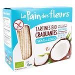 Le Pain des fleurs free gluten with coconut crispbread 150g