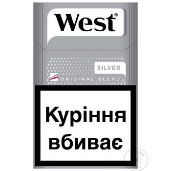 Цигарки West Silver KS - купити, ціни на CітіМаркет - фото 1