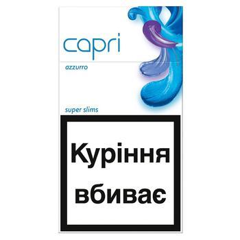 Сигареты Capri Azzurro - купить, цены на Ашан - фото 2