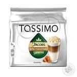 Кофе Jacobs Tassimo latte macchiato caramel 268г