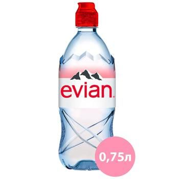 Evian non-carbonated mineral water 700ml - buy, prices for CityMarket - photo 1