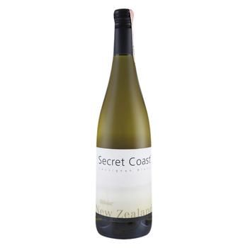 Вино Secret Coast Sauvignon Blanc біле сухе 12.5% 0,75л