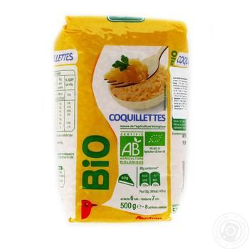 Макаронные изделия Auchan Bio улитки 500г
