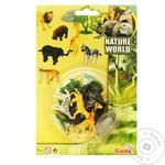 Zoo Game Set Animals Toy With Accessories