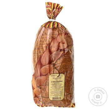 Хліб Нове Діло з висівками нарізний 400г - купити, ціни на Ашан - фото 1