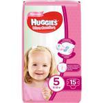 Подгузники Huggies Ultra Comfort для девочек 5 12-22кг 15шт