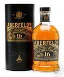 Aberfeldy whiskey 16 years 0,7l in tube