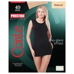 Tights Conte Prestige natural polyamide for women 40den 2size