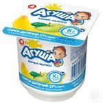 Cottage cheese Agusha apple-banana for 8+ months babies 3.9% 100g