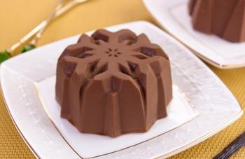 Ванильно-шоколадное мороженое с шоколадной глазурью