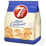 7 days Mini Croissant with Vanilla Flavour Filling 65g
