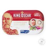 Печень трески King Oscar натуральная 121г