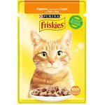 Friskies Cats Food with Chicken Pieces in Sauce 85g