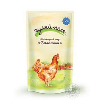 Соус Гуляй-поле майонезный салатный 30% 160г - купить, цены на Novus - фото 1