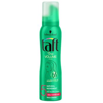 Schwarzkopf Taft Mousse True Volume Mega Strong 150ml - buy, prices for Auchan - photo 1