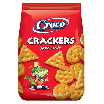 Крекер Croco соленый 100г - купить, цены на Novus - фото 1