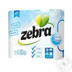 Zebra Three-Layer Toilet Paper 4pc