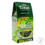Edems Green Tea with lime and mint 100g