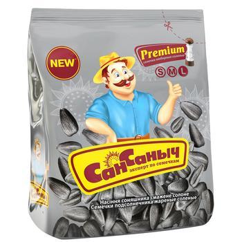 San Sanich Premium Salty Sunflower Seeds 110g - buy, prices for CityMarket - photo 1
