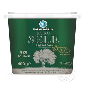 Маслини чорні в'ялені KURU SELE 2XS MARMARABIRLIK 400г